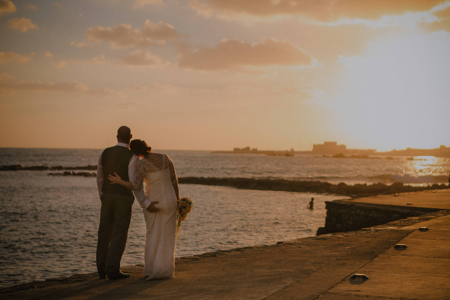 Annabelle Hotel sun set wedding photos