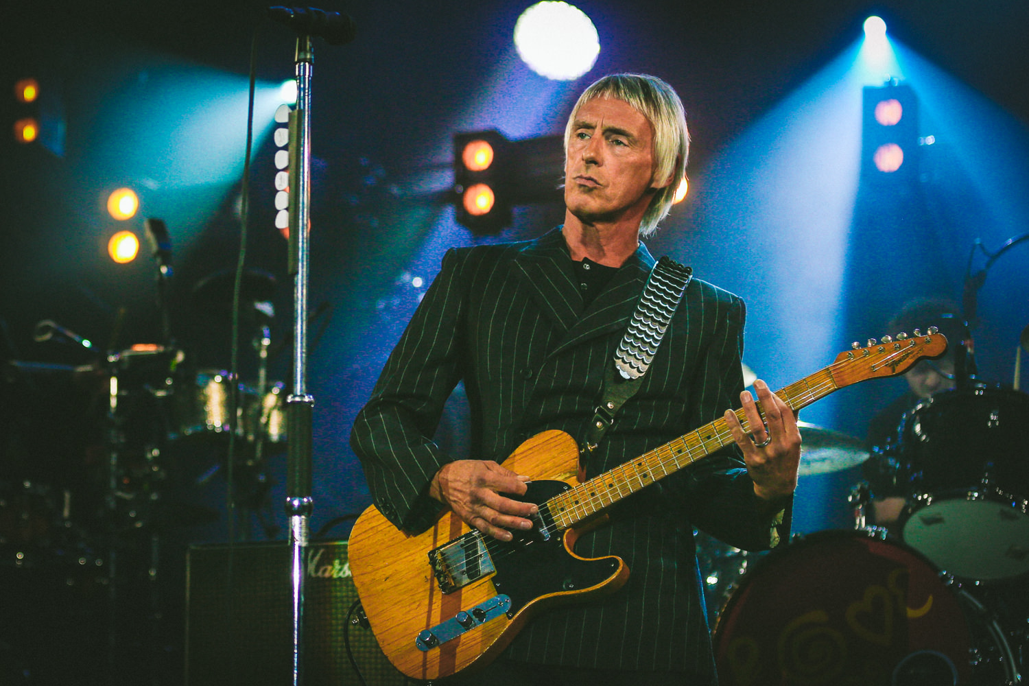 Vision board and Paul Weller images