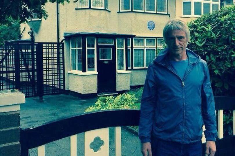 Paul Weller at John Lennons house