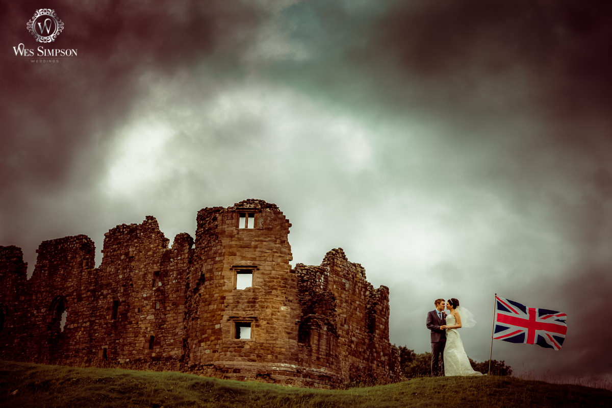 Augill Castle, wedding, photographer, wes simpson, British wedding