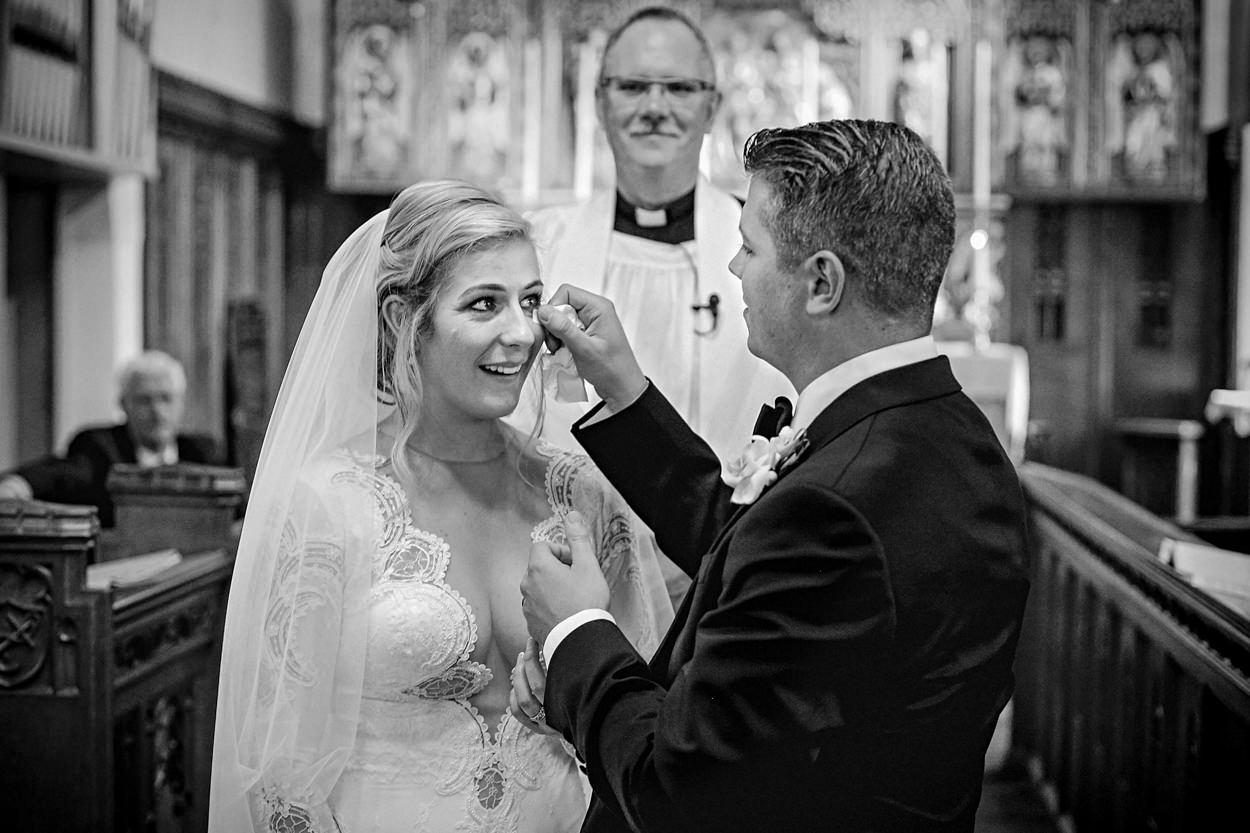 Natural documentary style wedding photography Lancashire