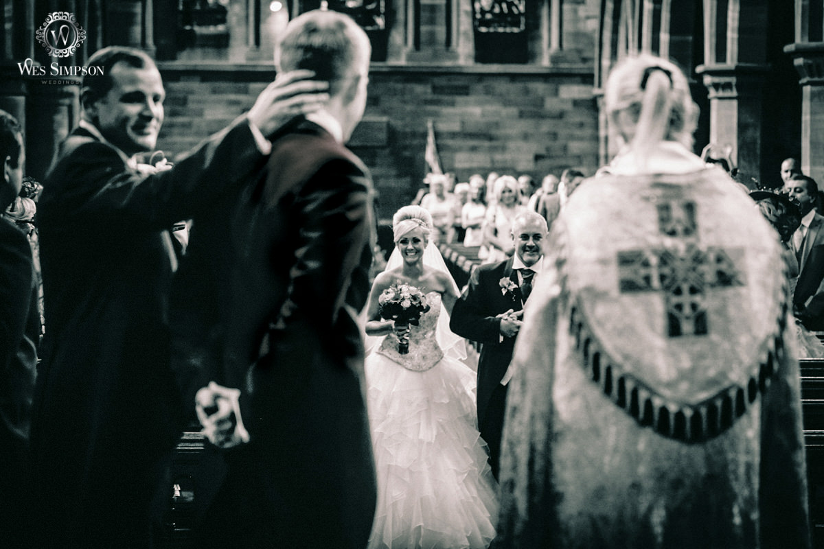 Church wedding, Liverpool, Wes simpson photographer