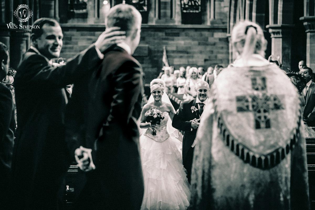 Church wedding, Liverpool, Wes simpson photographer