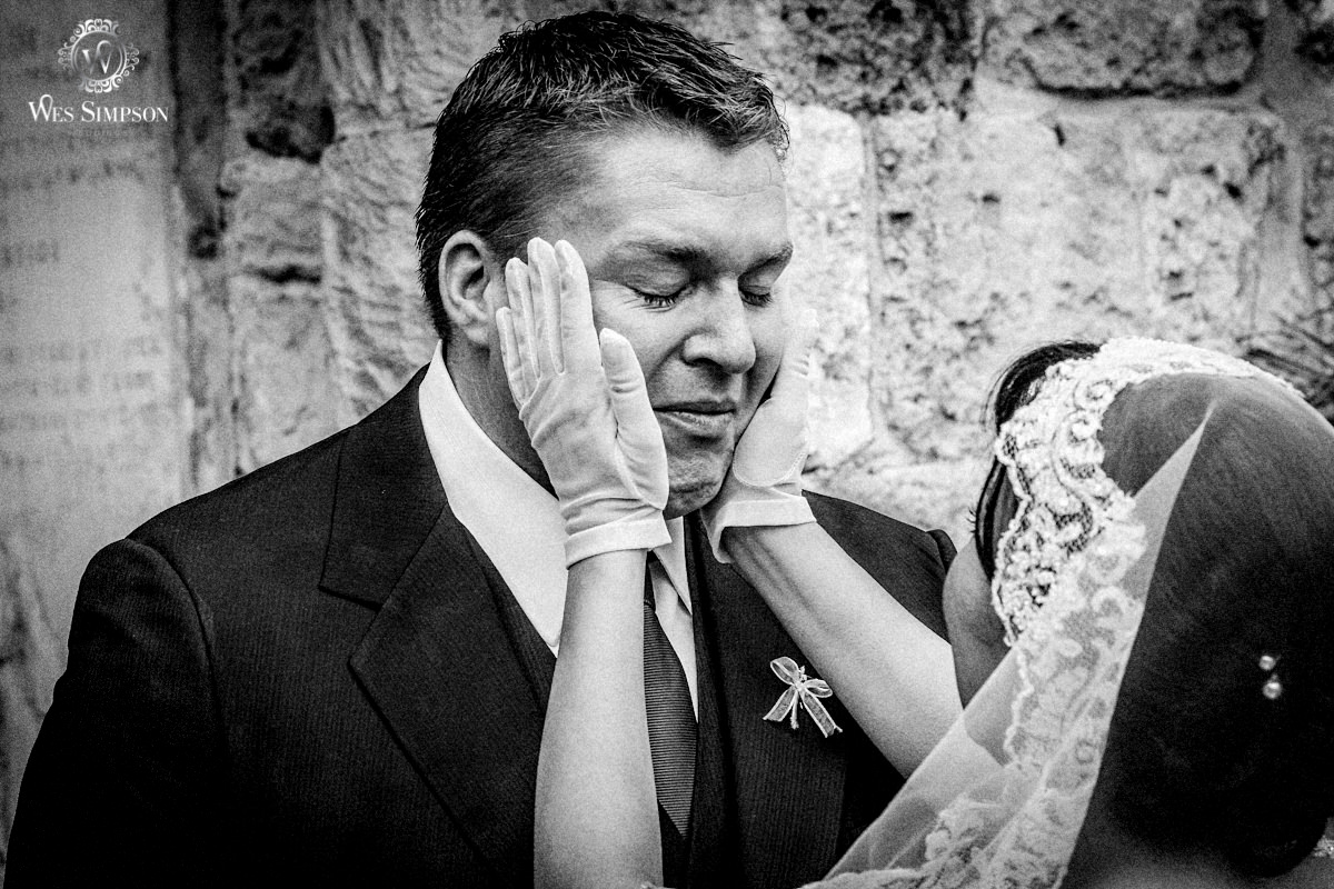 Emotional groom, Greek orthodox, wedding, Larnica, Cyprus