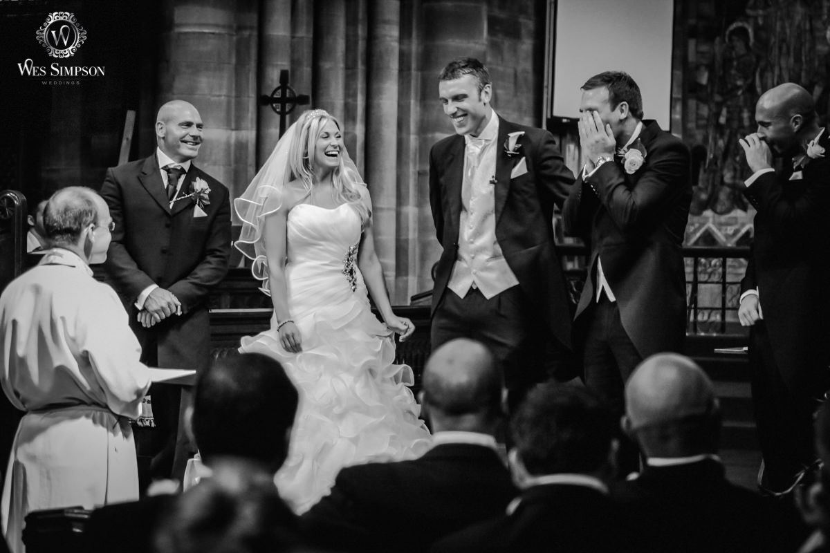 Liverpool football club wedding photographer, wes simpson