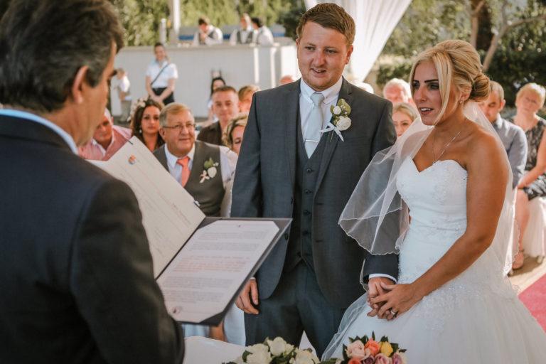 wedding Sunrise Beach Protaras Cyprus