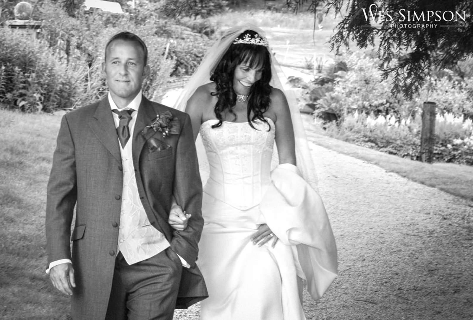 Wes Simpson 1st wedding at Lange Dale Chase lake District