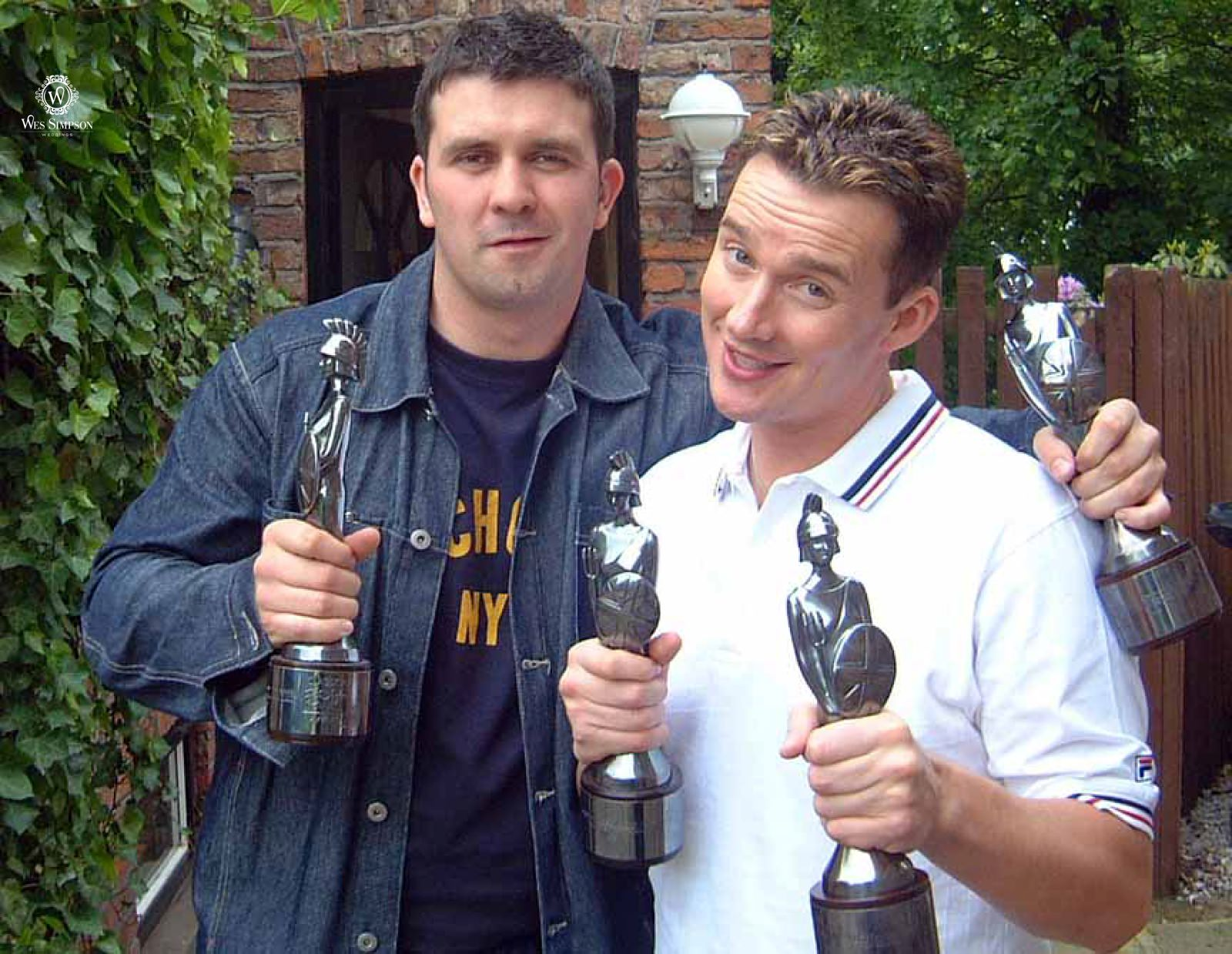 Wes Simpson and Brit Award winner Russell Watson