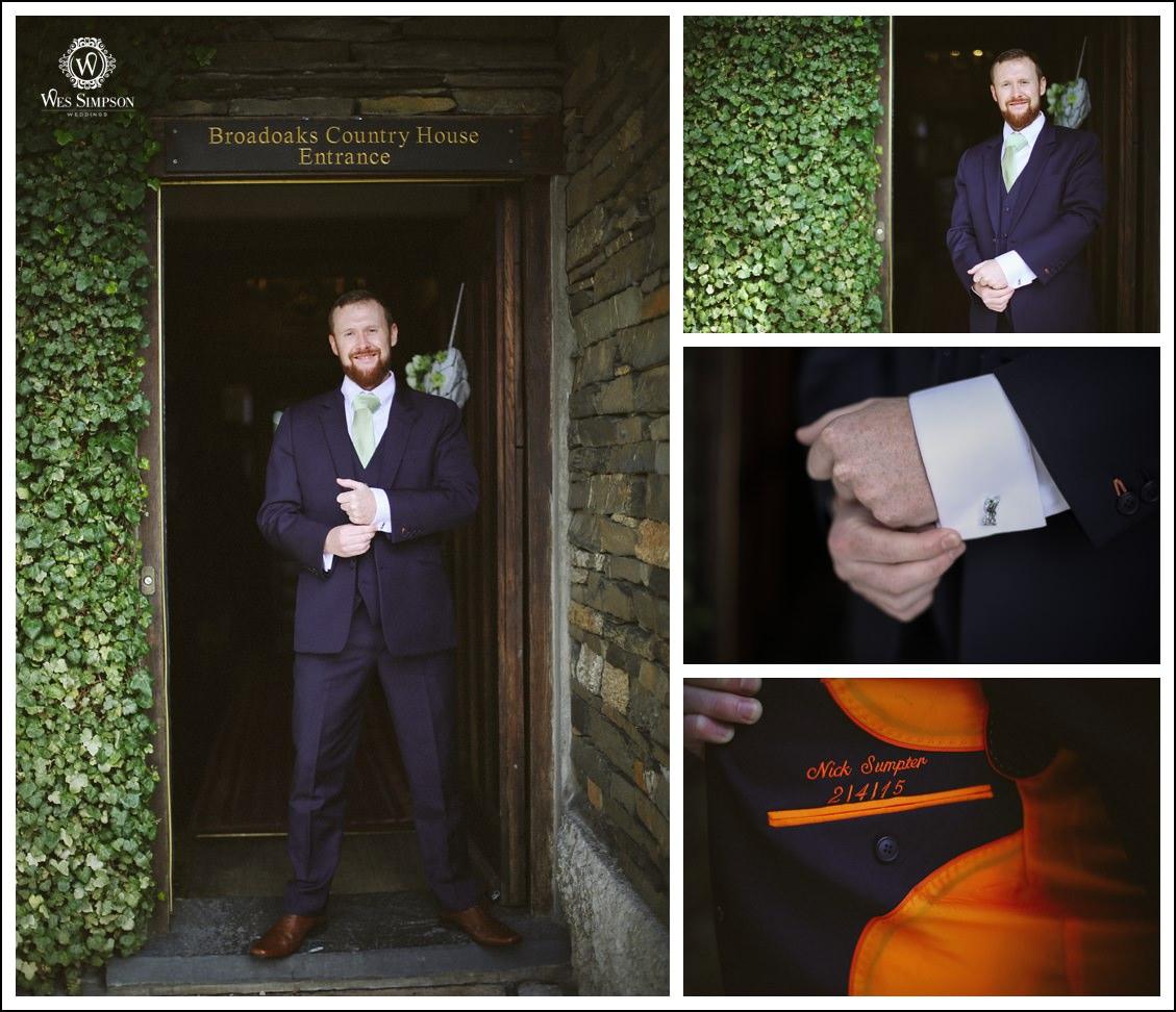 Broadoaks wedding venue, Lake District wedding photographer, Windermere, Wes Simpson photography_0011