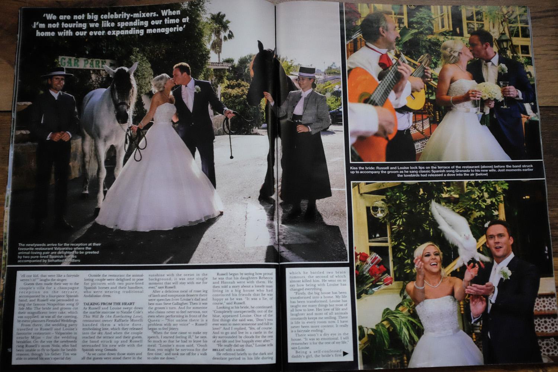 HELLO! MAGAZINE WEDDING PHOTOGRAPHER