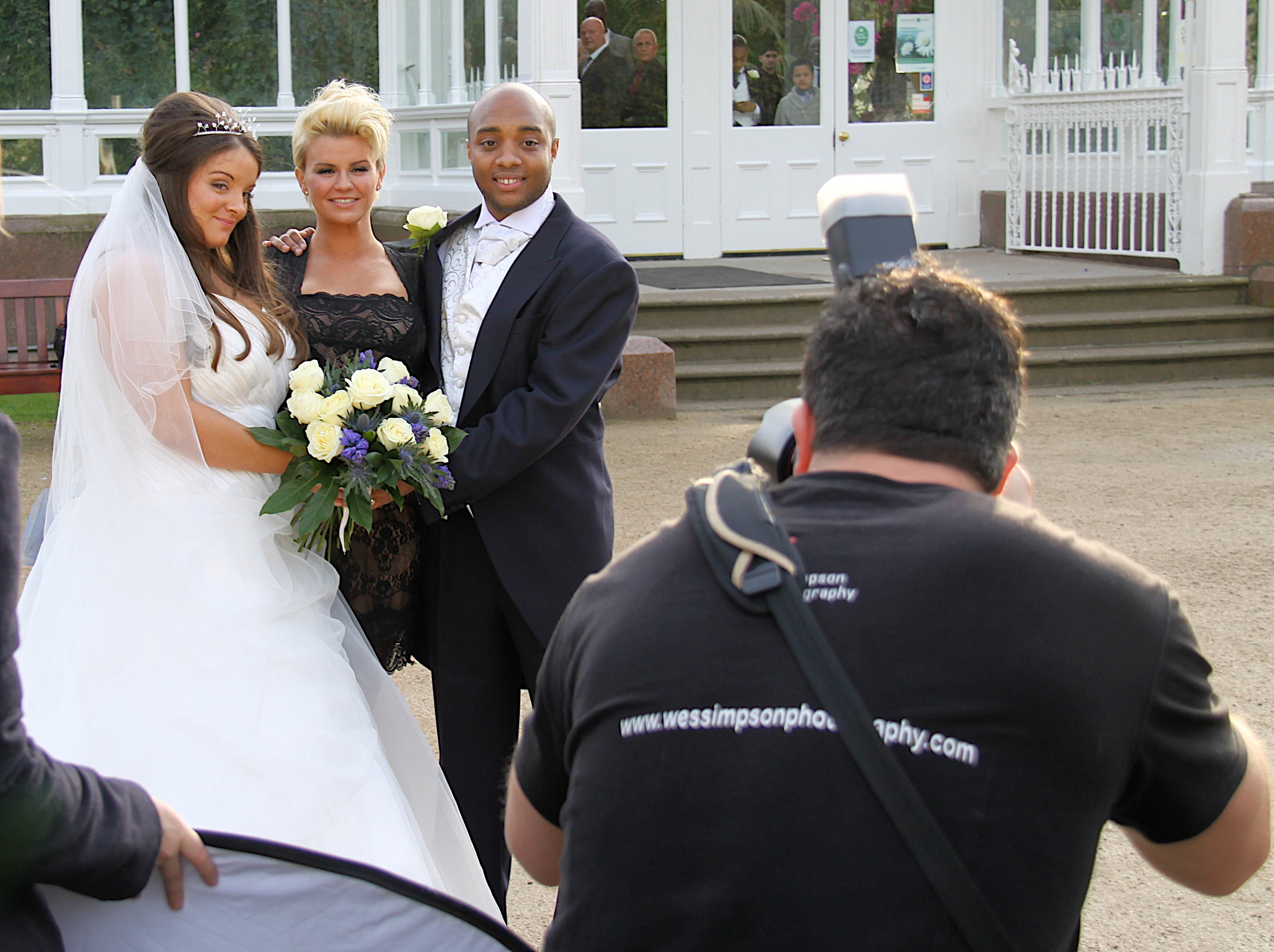 Celebrity wedding photographer