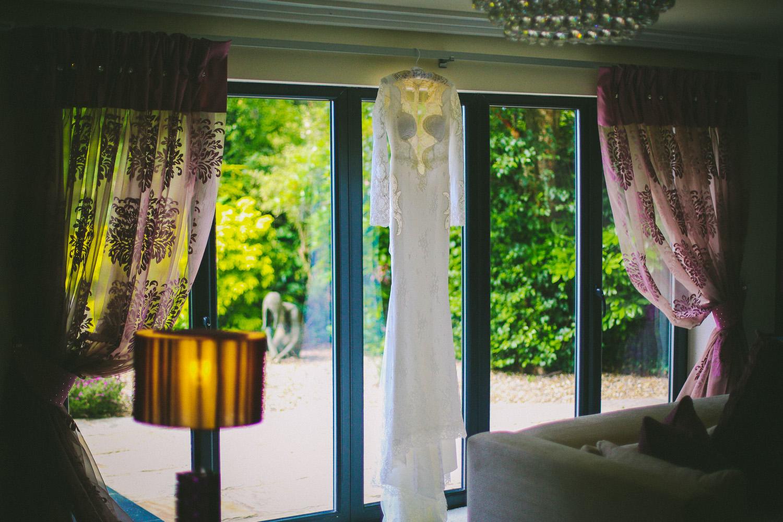 Berta wedding dress Lancashire wedding Wrea Green