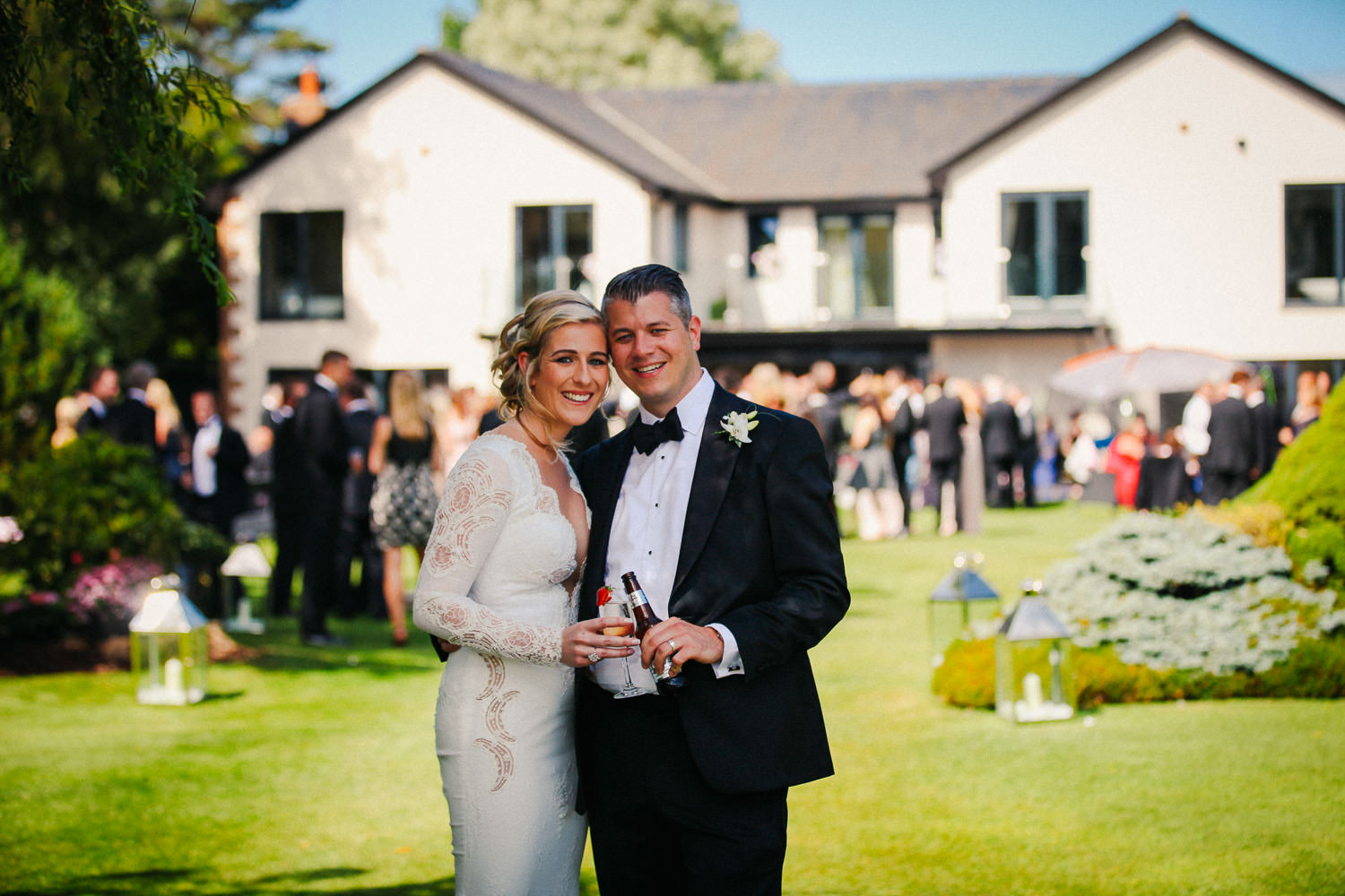 Lancashire wedding photographer Wrea Green