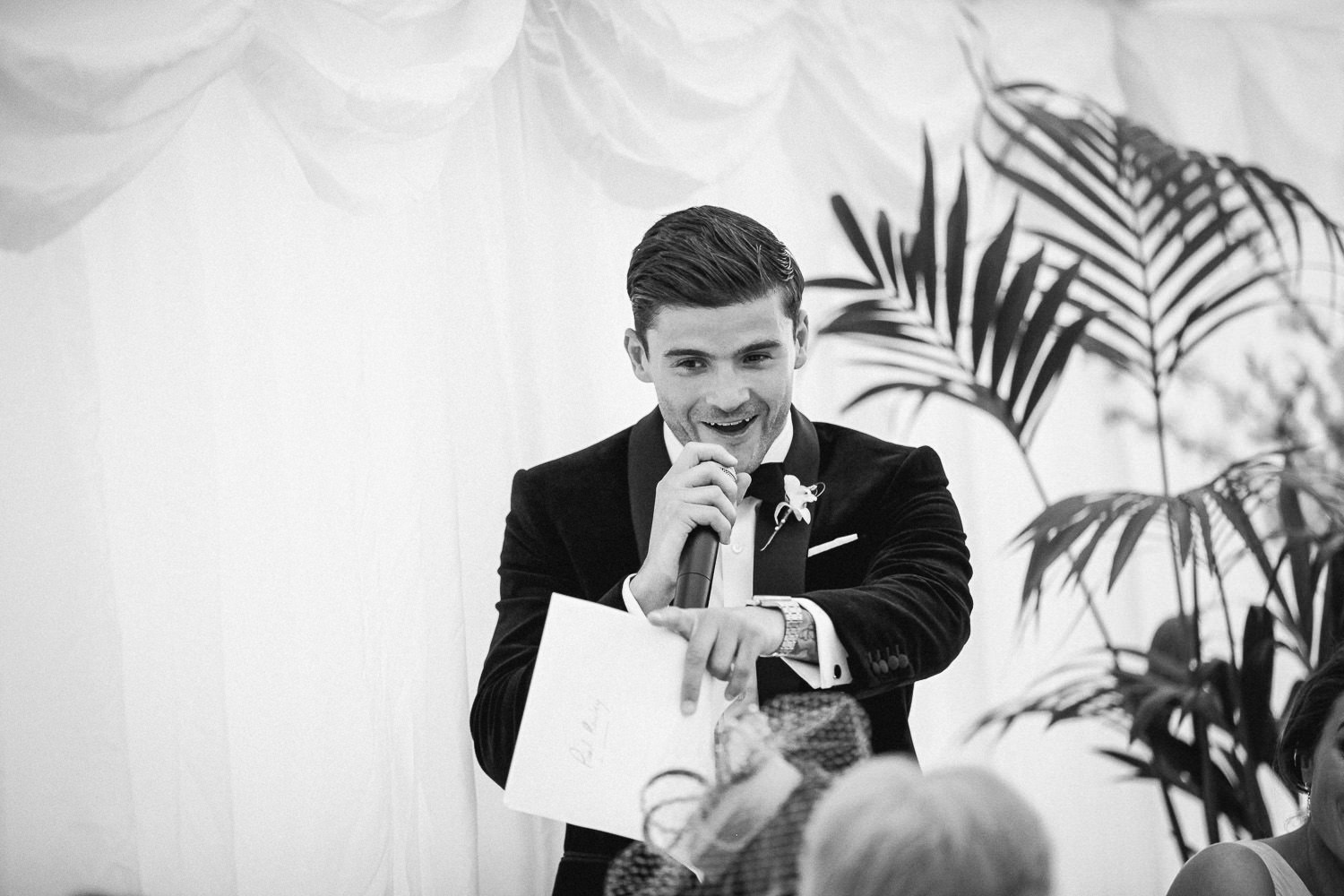 Best man Lancashire wedding speeches Wrea Green