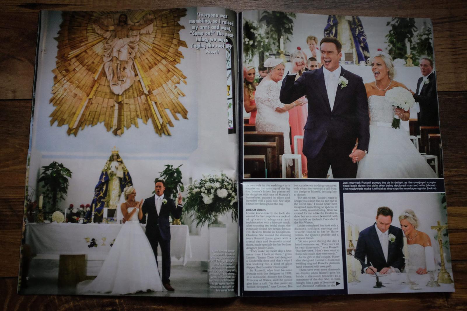Liverpool celebrity wedding photographer Wes Simpson