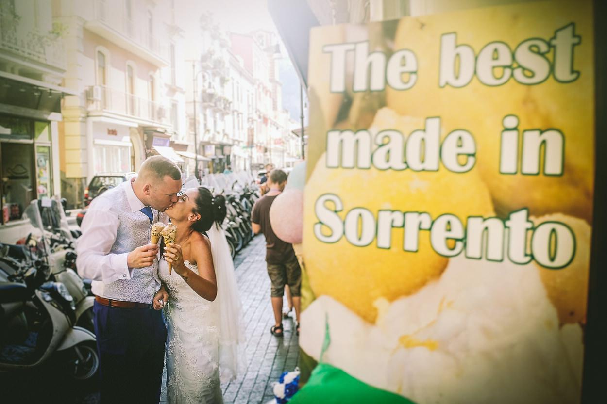 English wedding photographer Sorrento Amalfi Coast