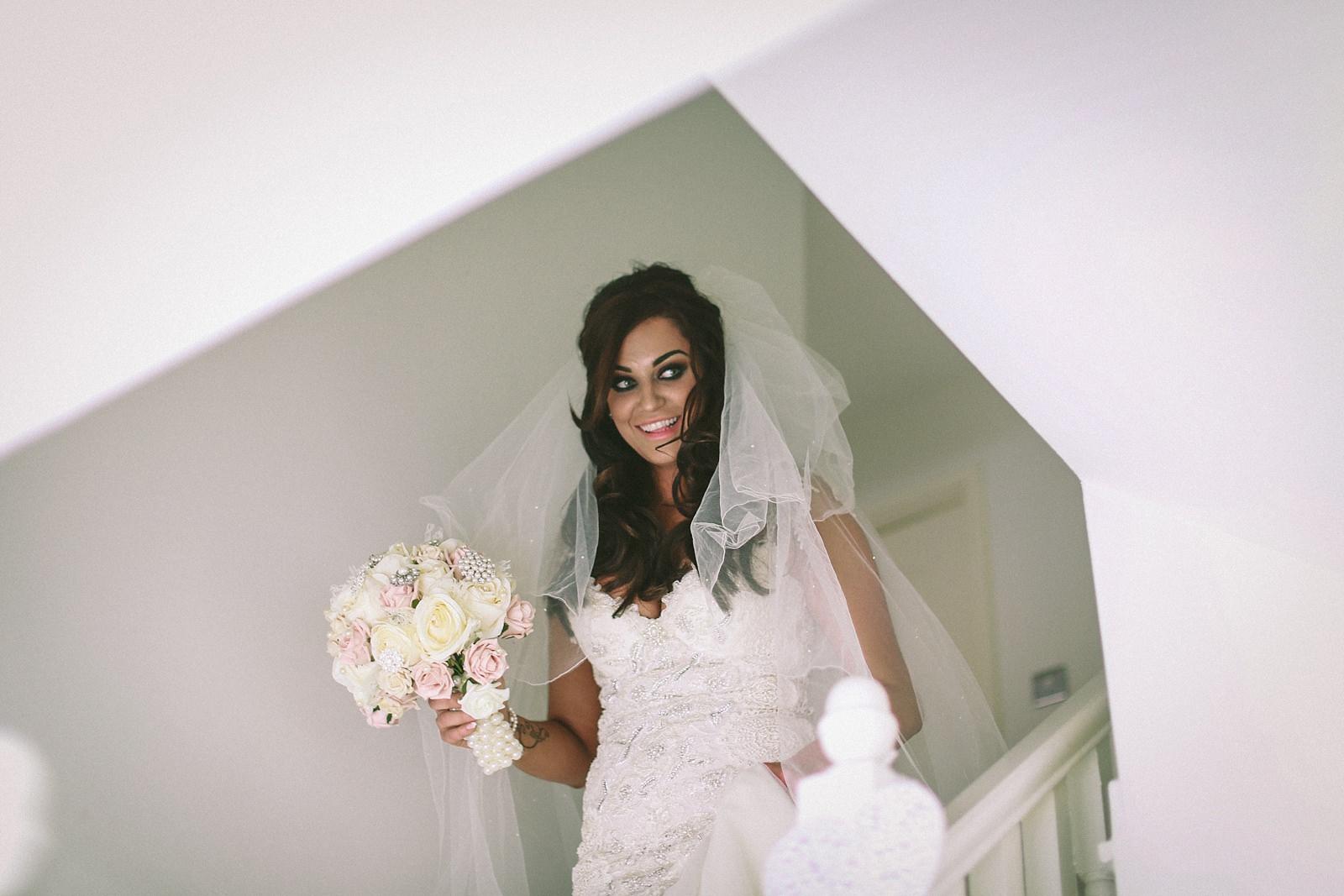 Galia lahav haute couture Giselle dress - West Tower Wedding Photography by Lancashire wedding Photographer Wes Simpson_0011