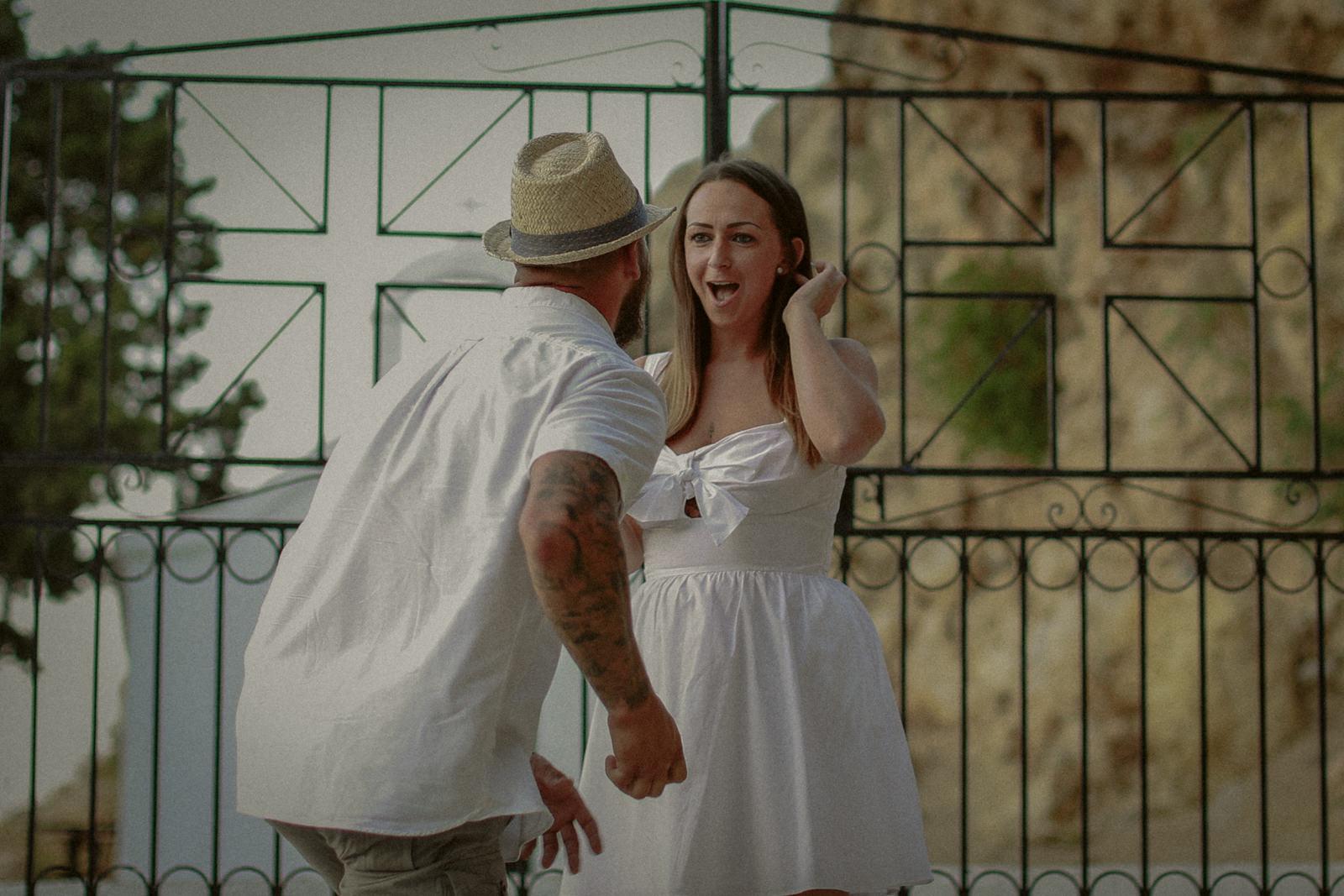 Keith & Jayne's wedding proposal