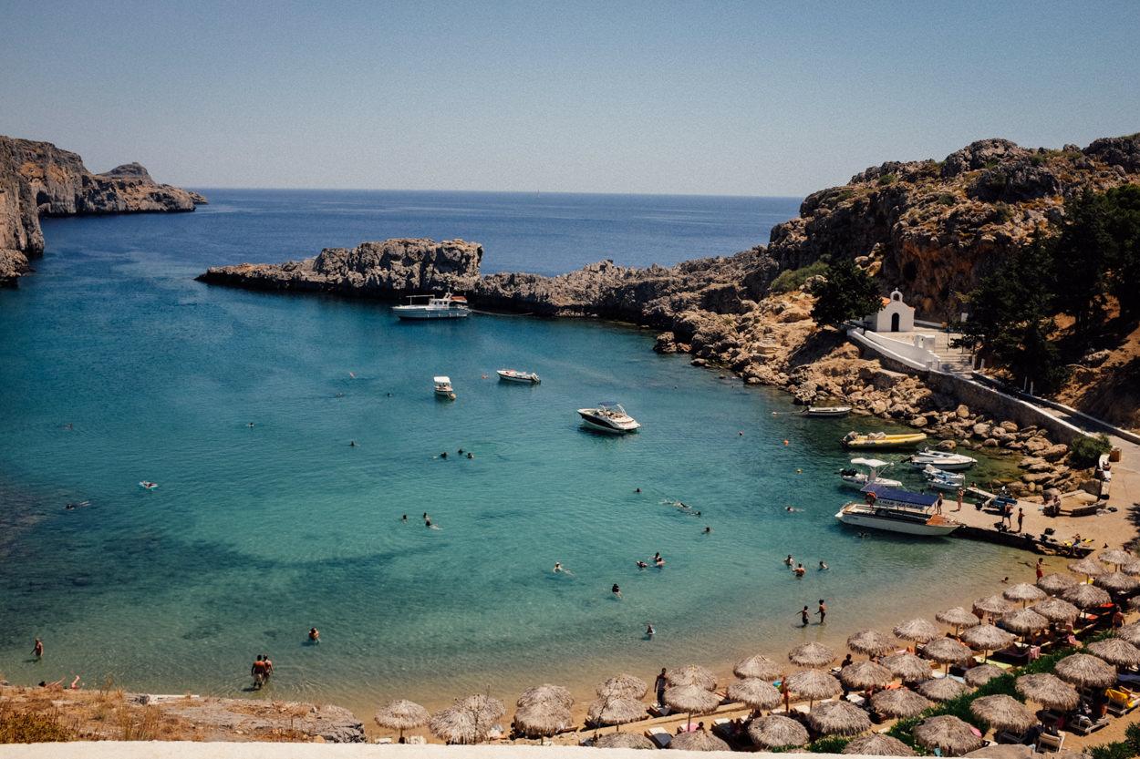 lindos island greece