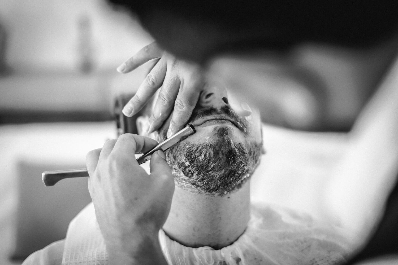 Turkish shave Lindos wedding
