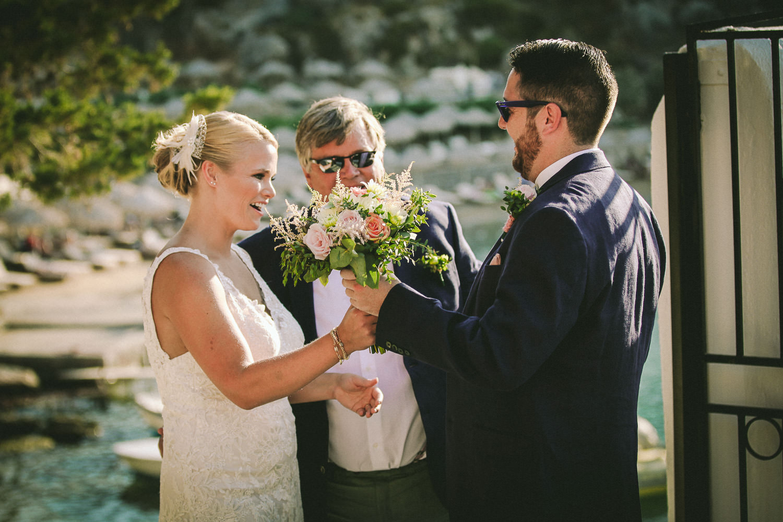 Lindos wedding photographer St Paul Bay