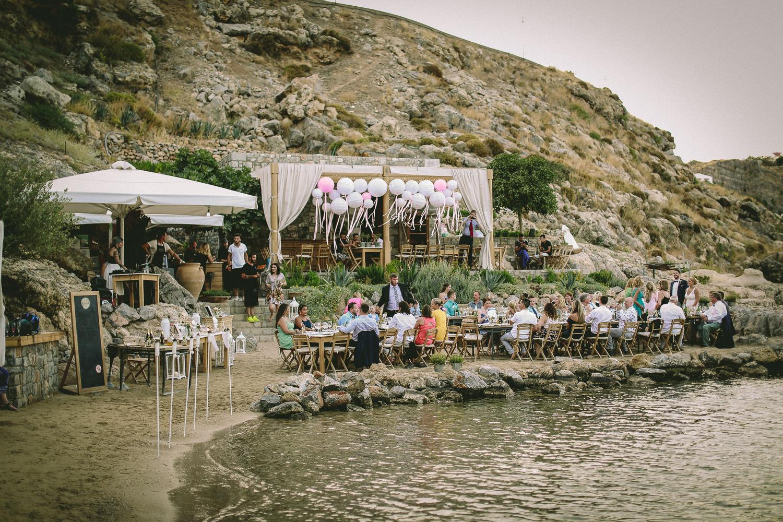 St Pauls Bay lands wedding reception