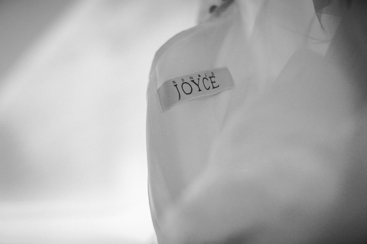 Ronald Joyce wedding gown Shankley Hotel Liverpool