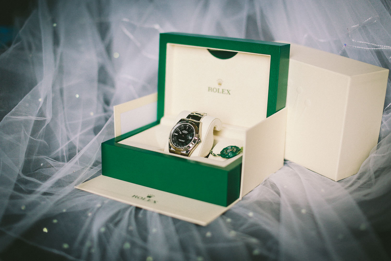 Hilton Liverpool Wedding photography Rolex watch