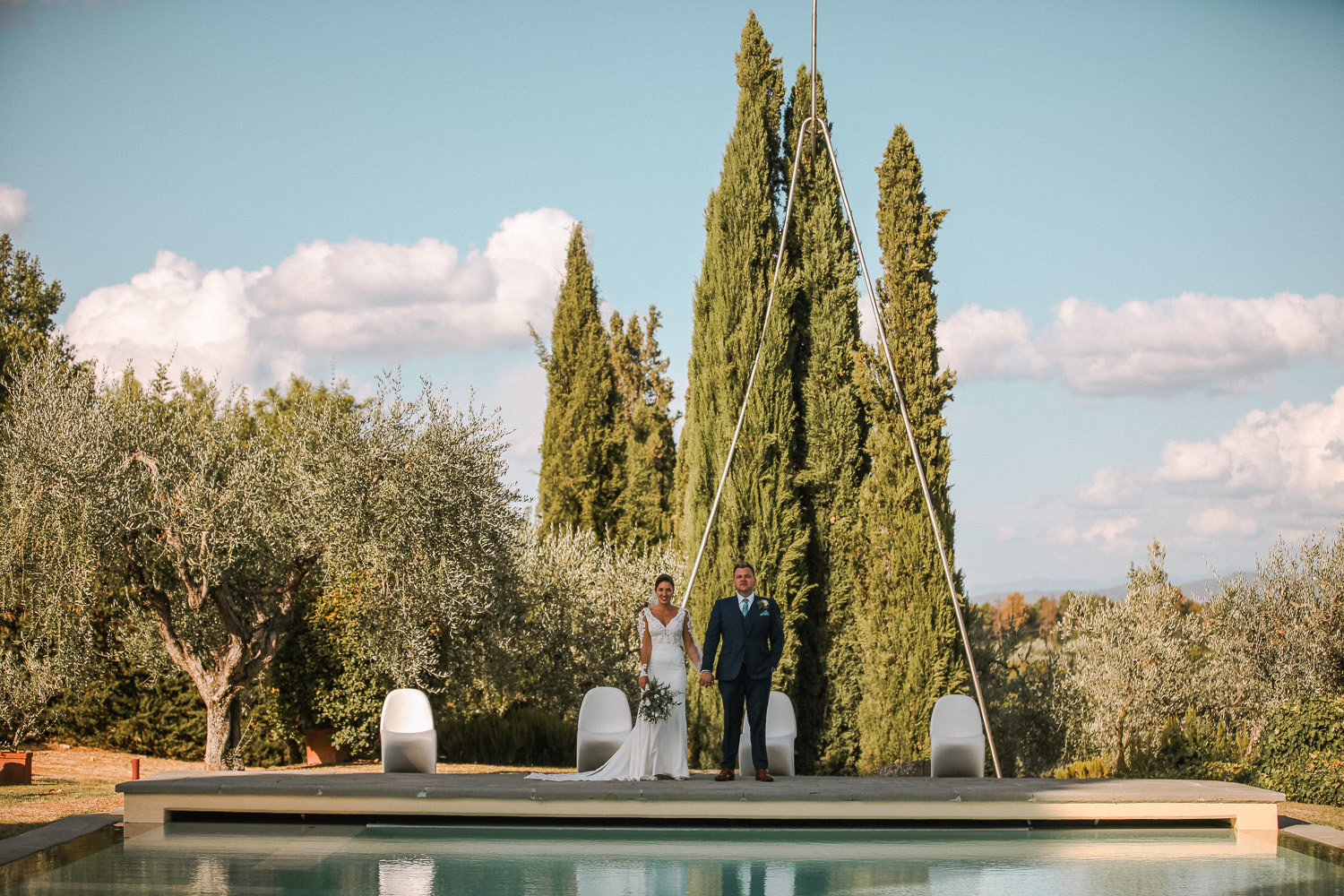 Wedding ceremony photography Fattoria la Loggia Tuscany