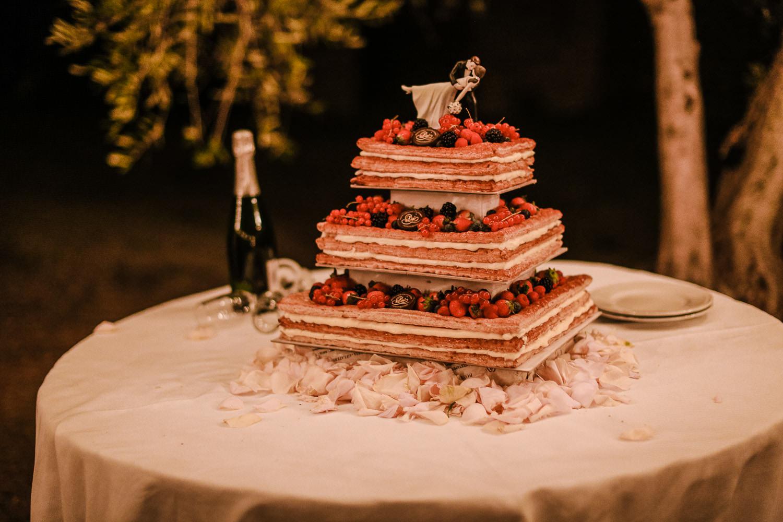 Wedding cake Fattoria la Loggia