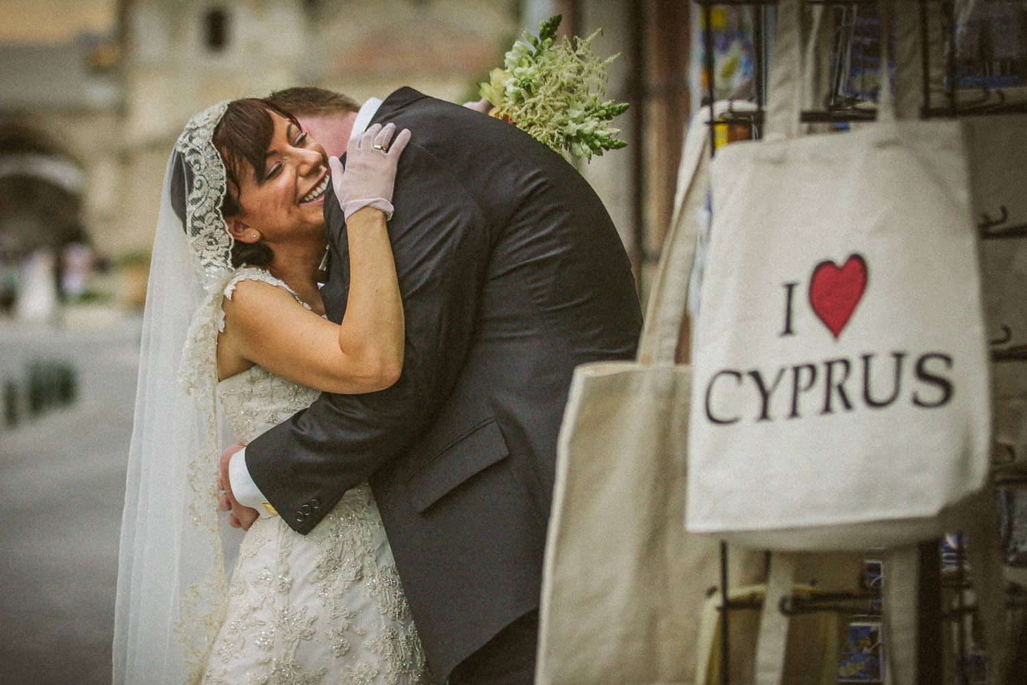 I love Cyprus wedding photo