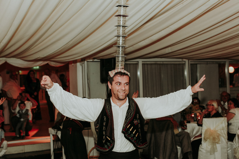 Greek Wedding Traditions: Greek dancing at wedding Larnaca