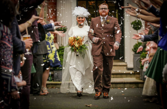 Vintage wedding photographer Ashfield House Lancashire