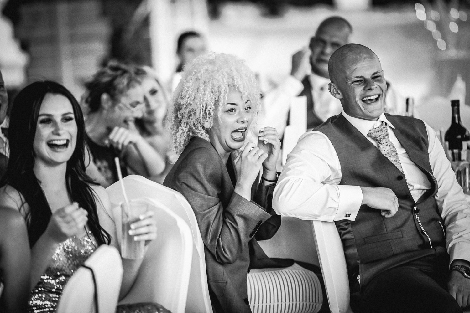 people laughing wedding photography at Liberty Hotels Lykia