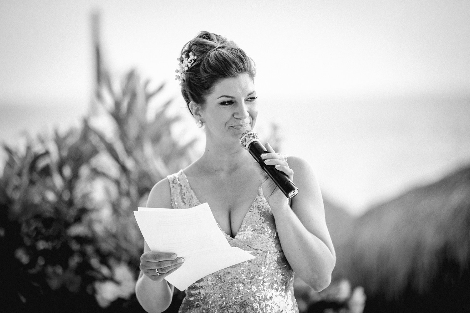 wedding photography at Liberty Hotels Lykia speeches wedding breakfast