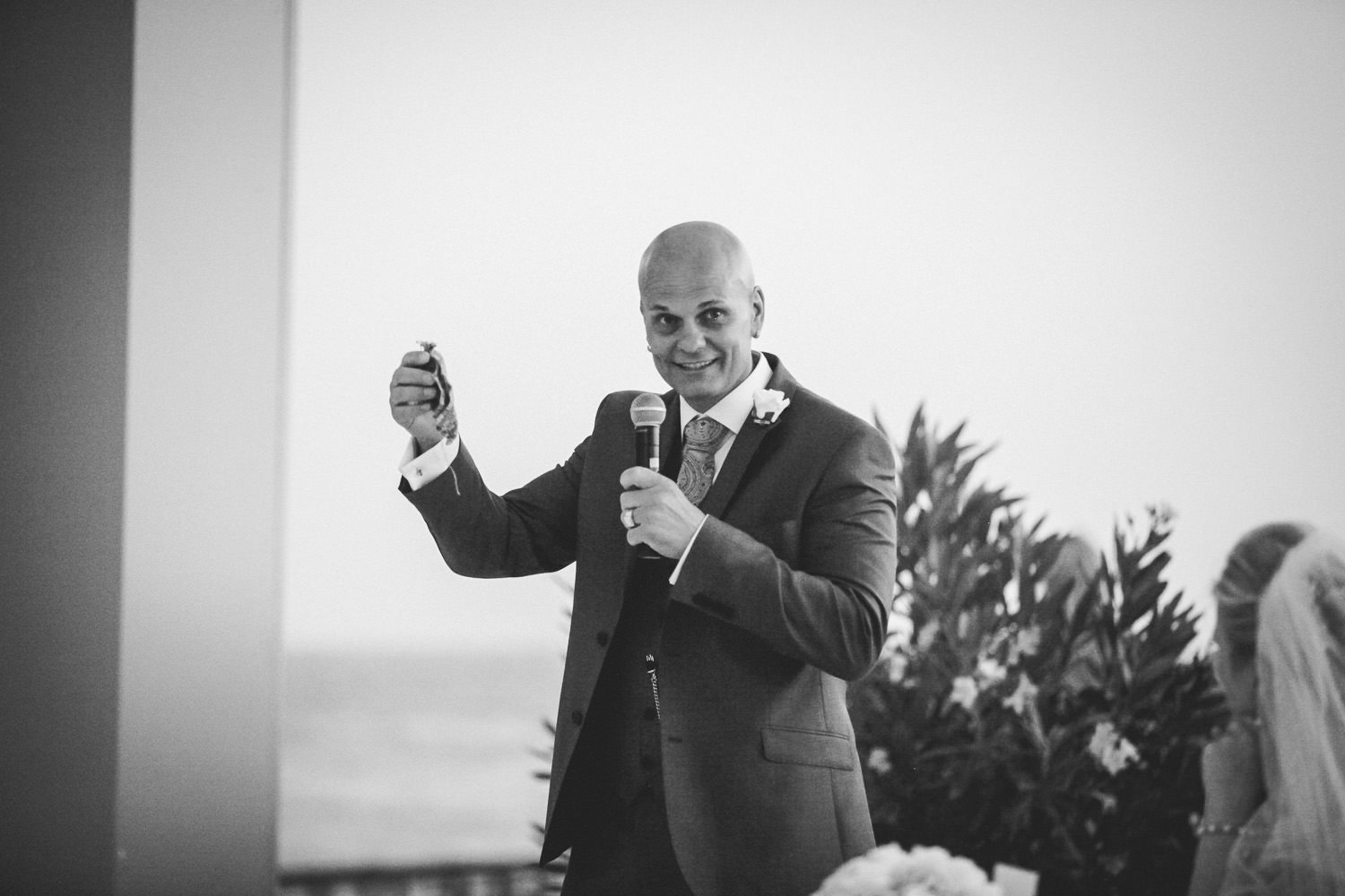 Grooms speech wedding photography at Liberty Hotels Lykia