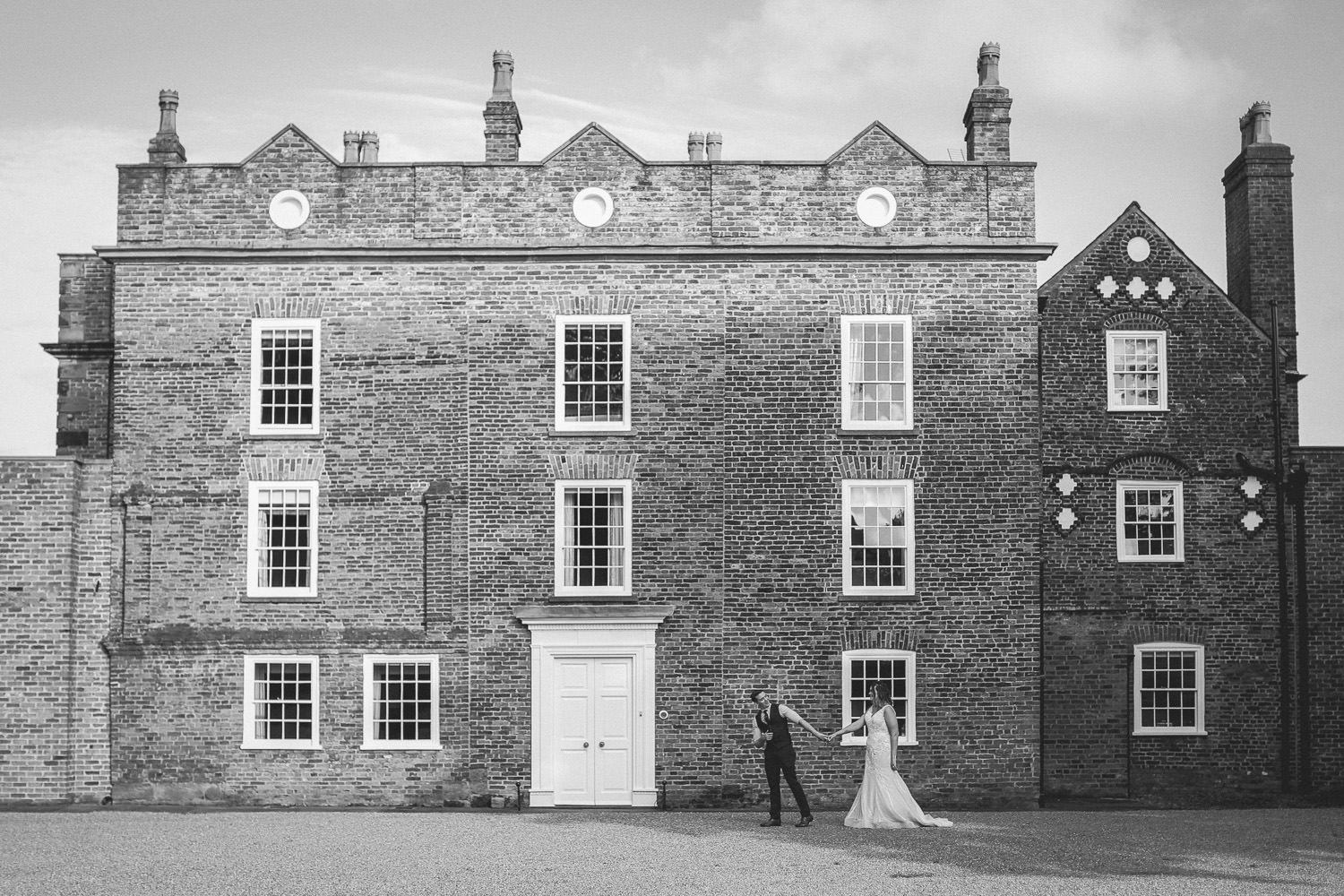 Rustic wedding at Meols Hall Southport