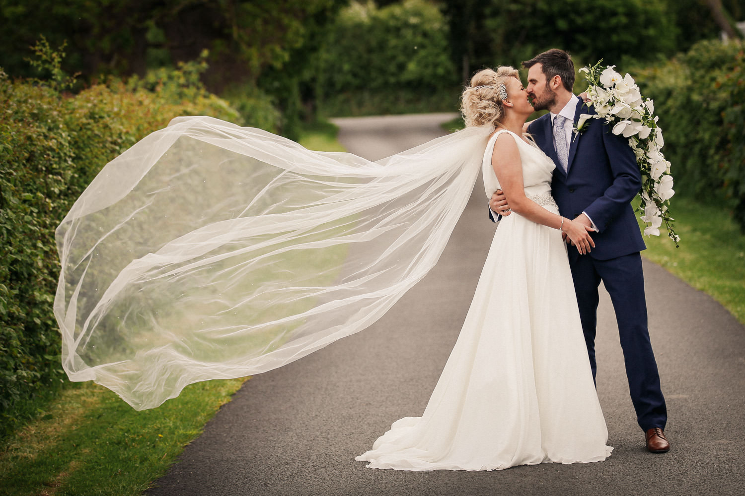 Wedding photography at The Kinmel Hotel