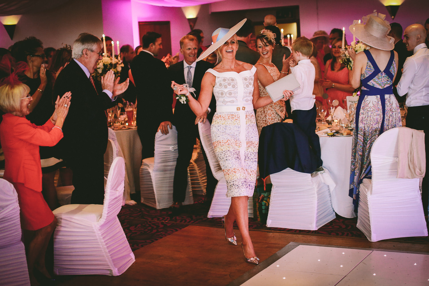 The Kinmel hotel wedding reception