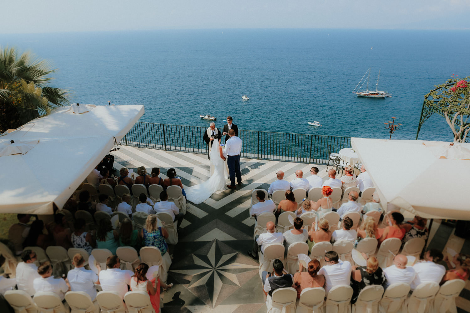 VILLA ANTICHE MURA: BEAUTIFUL SORRENTO WEDDING PHOTOGRAPHY