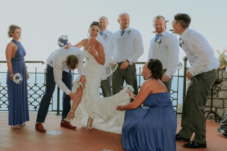 Wedding at Villa Antiche Mura Sorrento