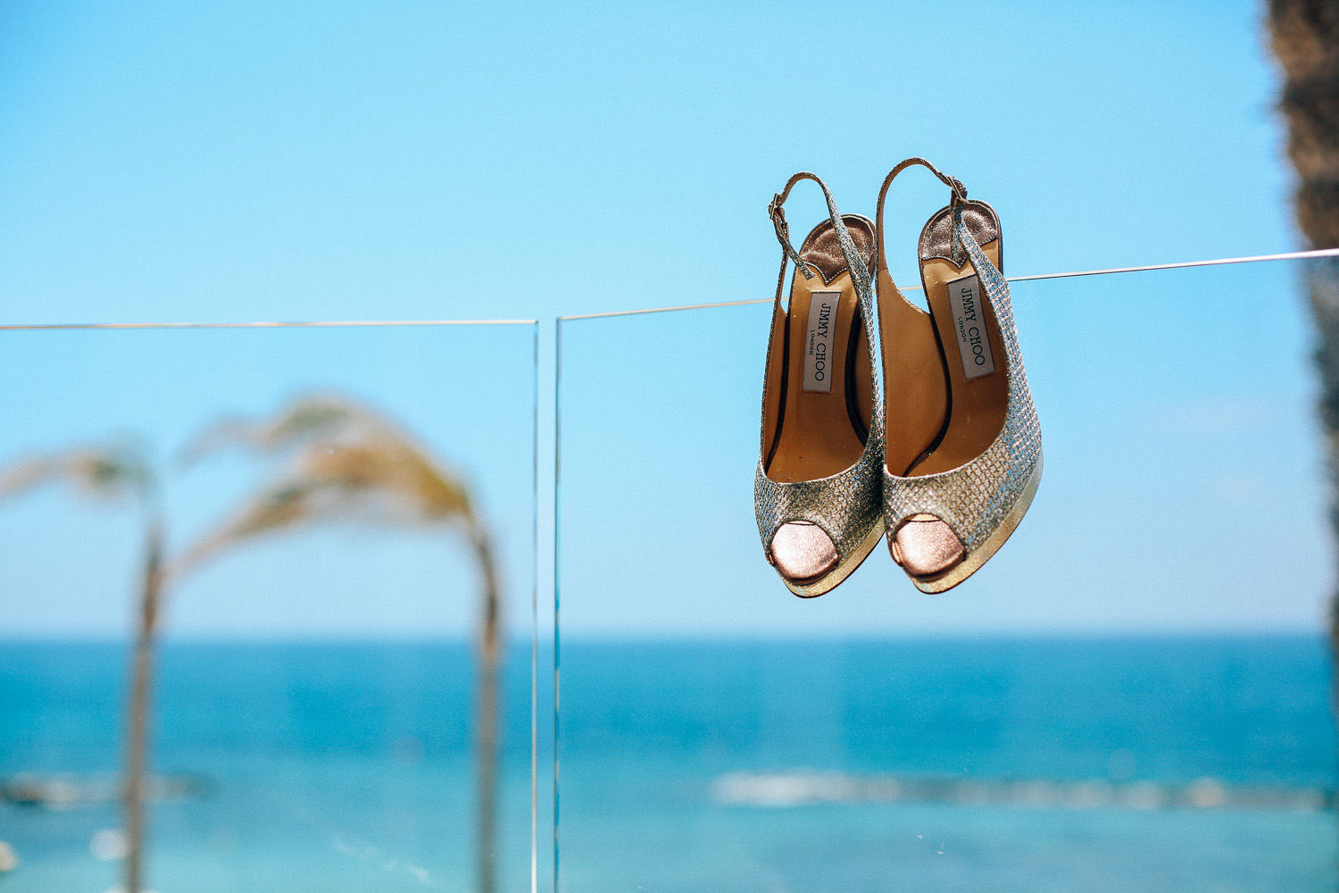 Jimmy Choo shoes Alexander the great hotel Paphos wedding photography