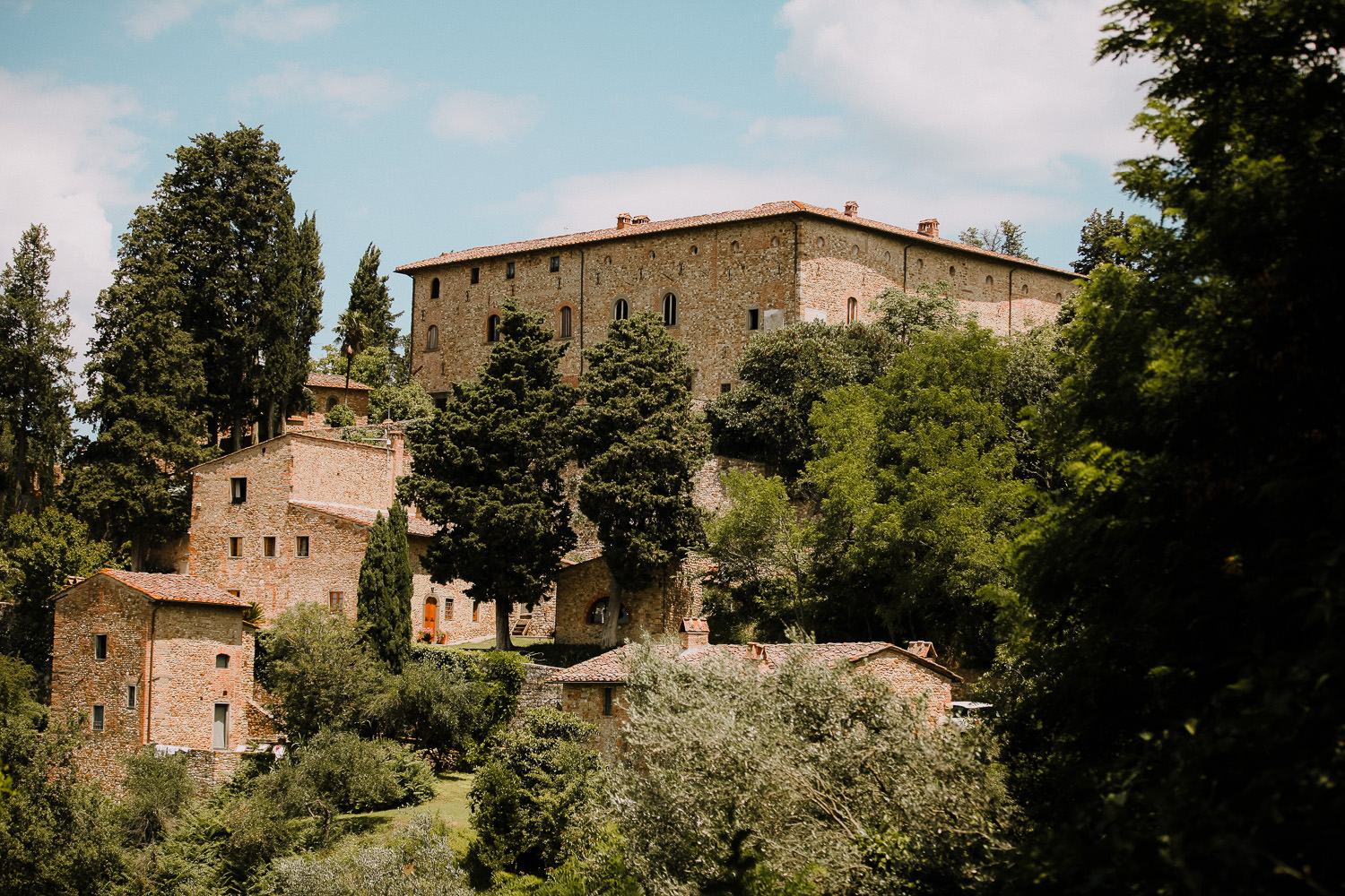 Castello di Bibbione Tuscany wedding photographer
