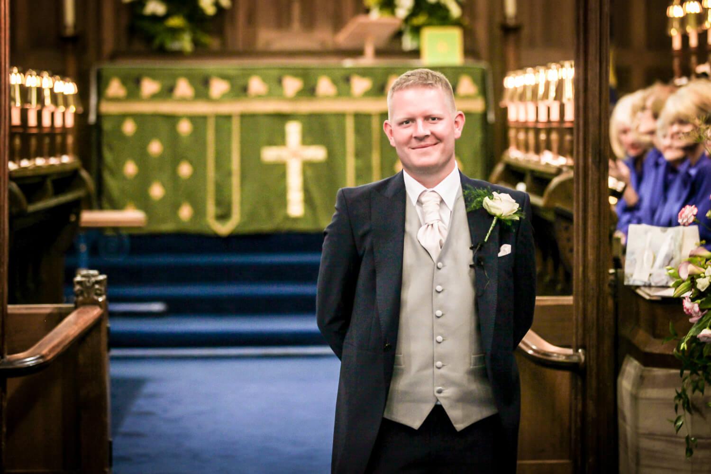 wedding photography Rainford Church Lancashire