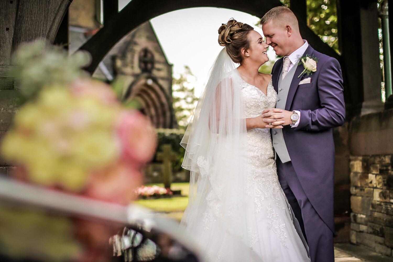 wedding photography Rainford Church Lancashire photographer