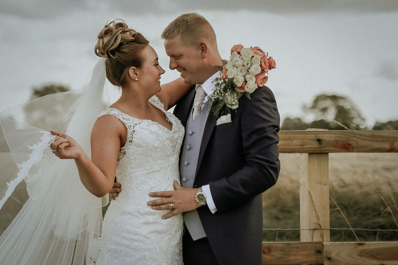 Bride and groom portraits family farm marquee wedding Ormskirk Lancashire Photographer