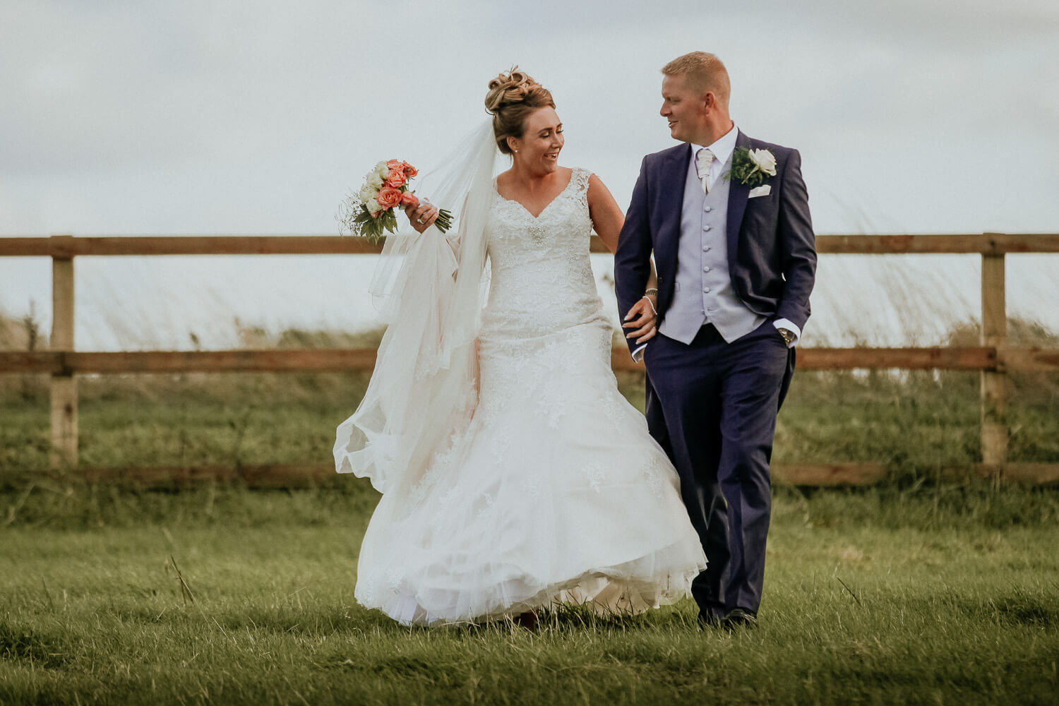Bride and groom portraits family farmhouse marquee wedding Ormskirk Lancashire Photographer