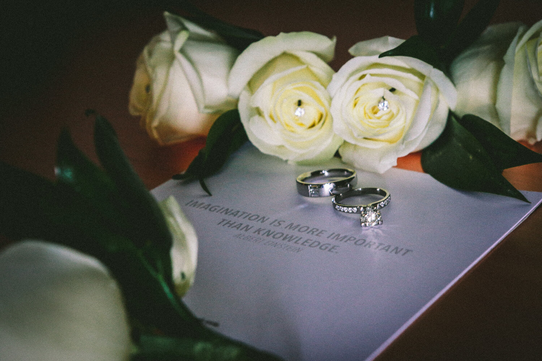 wedding rings Titanic Hotel Wedding Liverpool.