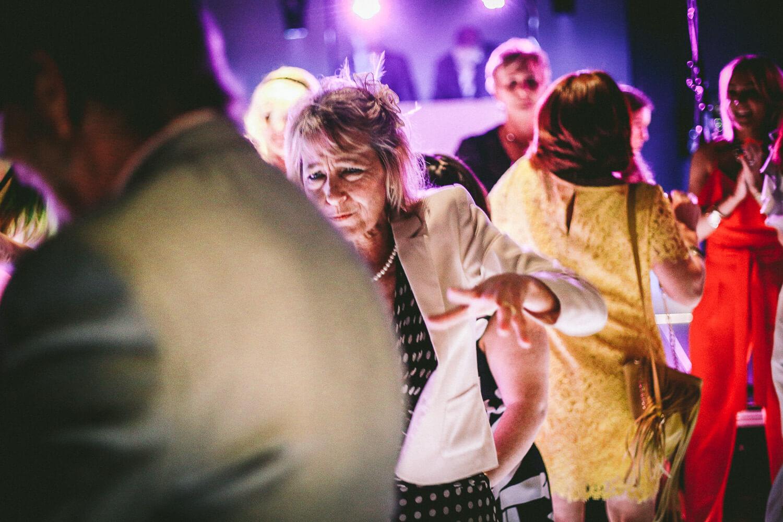 Titanic Hotel Wedding Liverpool. guest dancing