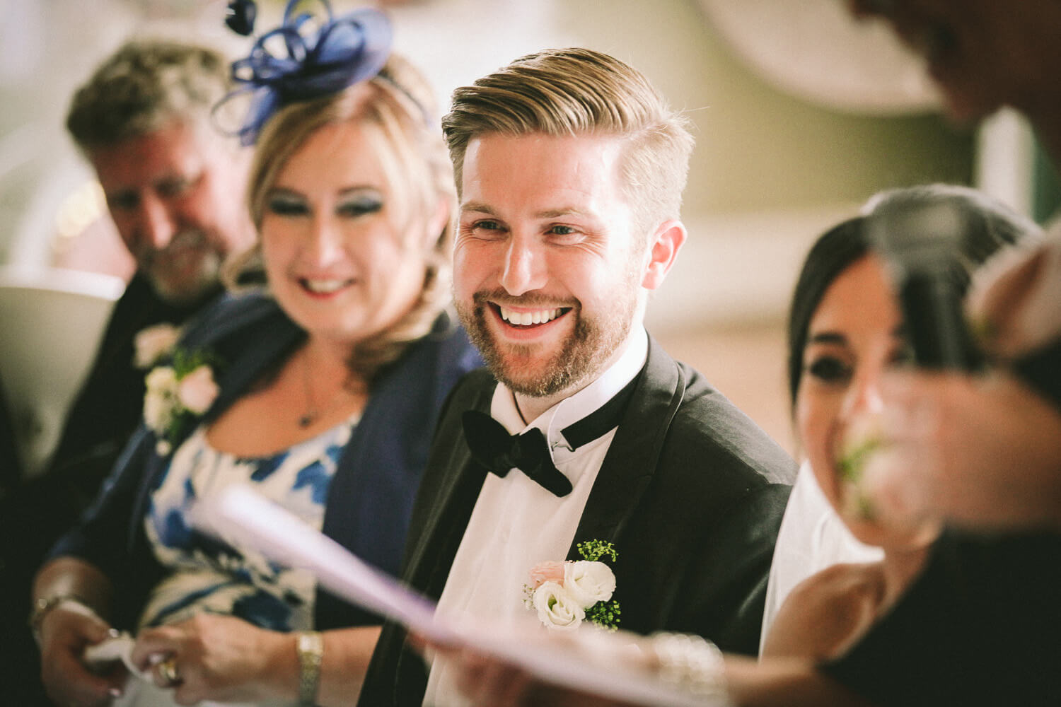 emotional reaction to wedding speeches 30 James Street Liverpool wedding photography